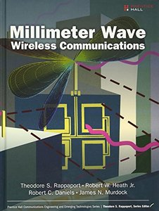 Millimeter Wave Wireless Communications (Hardcover)美國原版-cover
