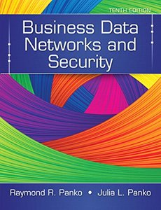 Business Data Networks and Security (10th Edition) Hardcover-cover