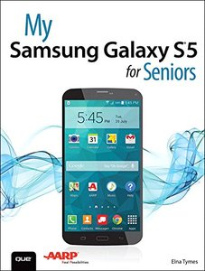 My Samsung Galaxy S5 for Seniors Paperback-cover
