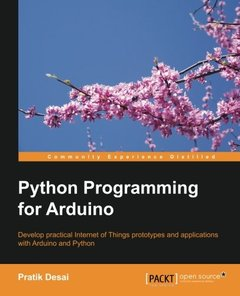 Python Programming for Arduino (Paperback)-cover