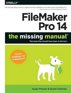 FileMaker Pro 14: The Missing Manual (Paperback)-cover