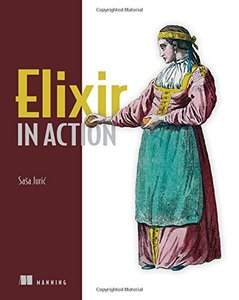 Elixir in Action (Paperback)-cover