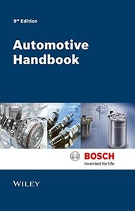 Automotive Handbook, 9/e (Hardcover)-cover