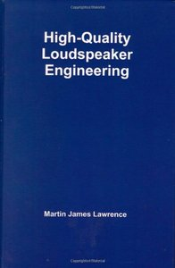 High-Quality Loudspeaker Engineering (Hardcover)-cover