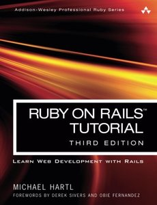 Ruby on Rails Tutorial: Learn Web Development with Rails, 3/e(Paperback)-cover