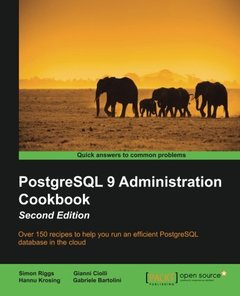 PostgreSQL 9 Administration Cookbook, 2/e (Paperback)-cover
