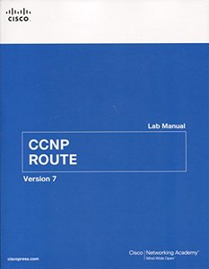 CCNP ROUTE Lab Manual, 2/e (Paperback)-cover