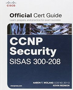 CCNP Security SISAS 300-208 Official Cert Guide (Hardcover)-cover