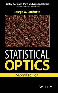 Statistical Optics, 2/e (Hardcover)-cover