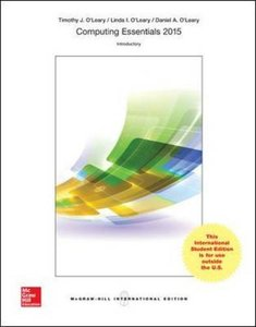 Computing Essentials 2015 (Introductory Edition)(IE-Paperback)-cover