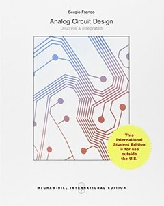 Analog Circuit Design: Discrete & Integrated (IE-Paperback)-cover