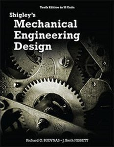Shigley's Mechanical Engineering Design, 10/e (SI Units)(IE-Paperback)-cover