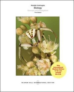 Biology : Concepts and Investigations, 3/e (IE-Paperback)-cover