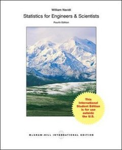 Statistics for Engineers and Scientists, 4/e (IE-Paperback)-cover