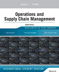 Operations and Supply Chain Management, 8/e (IE-Paperback)-cover