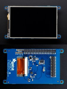PiTFT Plus 480x320 3.5吋電阻式觸控螢幕 TFT+Touchscreen for Raspberry Pi 3 / Pi 2 / A+ / B+ -cover