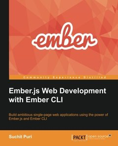 Ember.js Web Development with Ember CLI-cover
