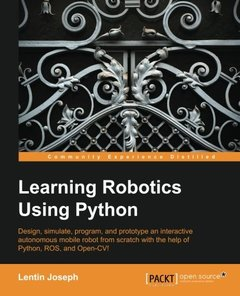 Learning Robotics using Python-cover