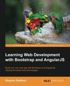 Learning Web Development with Bootstrap and Angular-cover