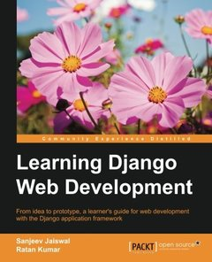 Learning Django Web Development-cover