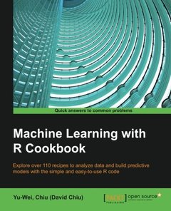 Machine Learning With R Cookbook - 110 Recipes for Building Powerful Predictive Models with R (Paperback)-cover