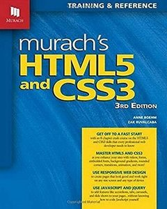 Murach's HTML5 and CSS3, 3/e (Paperback)-cover