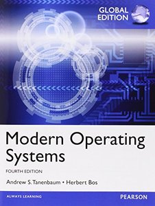 Modern Operating Systems, 4/e (IE-Paperback)-cover