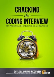 Cracking the Coding Interview : 189 Programming Questions and Solutions, 6/e (Paperback)-cover