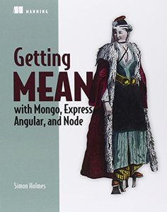 Getting MEAN with Mongo, Express, Angular, and Node (Paperback)-cover