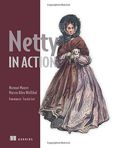 Netty in Action (Paperback)-cover