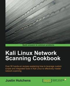 Kali Linux Network Scanning Cookbook (Paperback)-cover