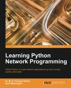 Learning Python Network Programming (Paperback)-cover