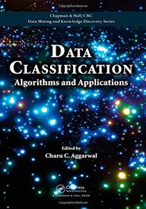 Data Classification: Algorithms and Applications (Hardcover)-cover