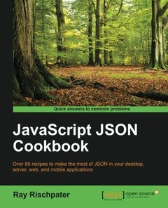JavaScript JSON Cookbook-cover