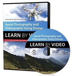 Aerial Photography and Videography Using Drones Learn by Video DVD-ROM-cover