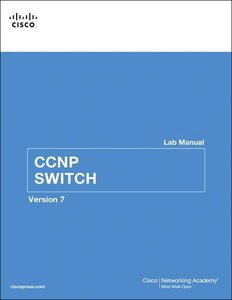 CCNP SWITCH Lab Manual, 2/e (Paperback)-cover
