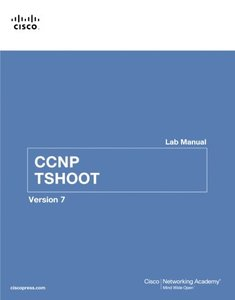 CCNP TSHOOT Lab Manual ( Version 7 ), 2/e (Paperback)-cover