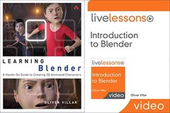 Learning Blender (Book) and Introduction to Blender LiveLessons (Video Training) Bundle (Game Design) Book Supplement-cover