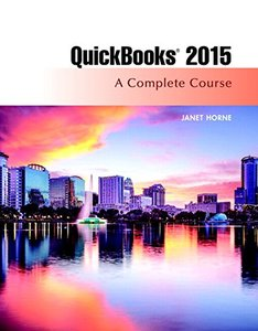 QuickBooks 2015: A Complete Course & Access Card Package, 16/e(Paperback)-cover