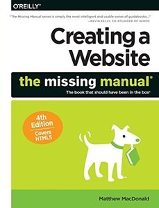 Creating a Website: The Missing Manual, 4/e (Paperback)-cover