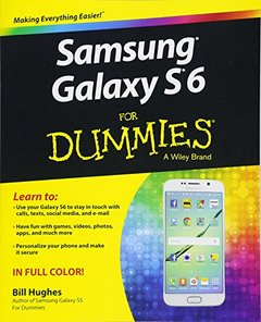 Samsung Galaxy S6 for Dummies Paperback-cover