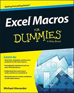 Excel Macros For Dummies (Excel for Dummies) Paperback-cover