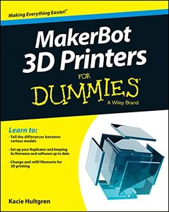 MakerBot For Dummies Paperback-cover