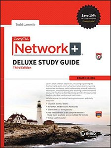 CompTIA Network+ Deluxe Study Guide: Exam N10-006 Hardcover-cover