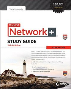 CompTIA Network+ Study Guide: Exam N10-006 (Comptia Network + Study Guide Authorized Courseware) Paperback-cover