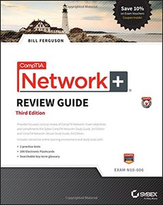 CompTIA Network+ Review Guide: Exam N10-006 Paperback-cover
