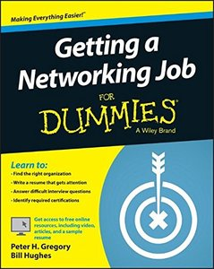 Getting a Networking Job For Dummies Paperback-cover