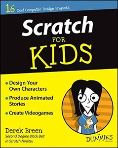 Scratch For Kids For Dummies Paperback-cover