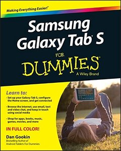 Samsung Galaxy Tab S For Dummies Paperback