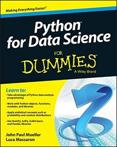 Python for Data Science For Dummies (Paperback)-cover